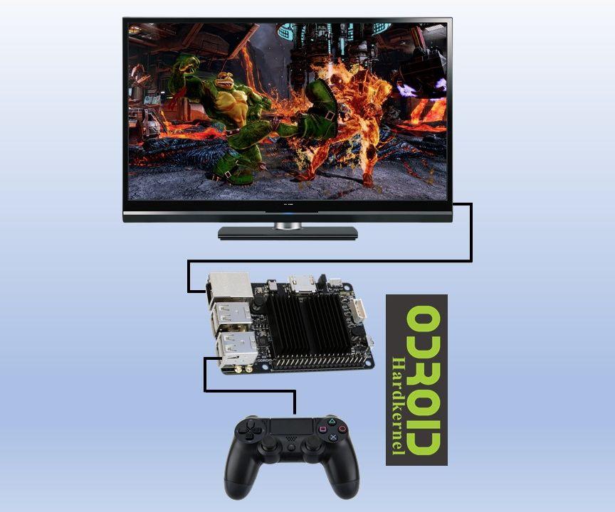 New PC Retrogaming Machine on Odroid