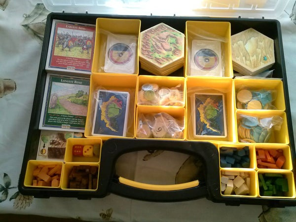 Settlers of Catan Cary Case <$10