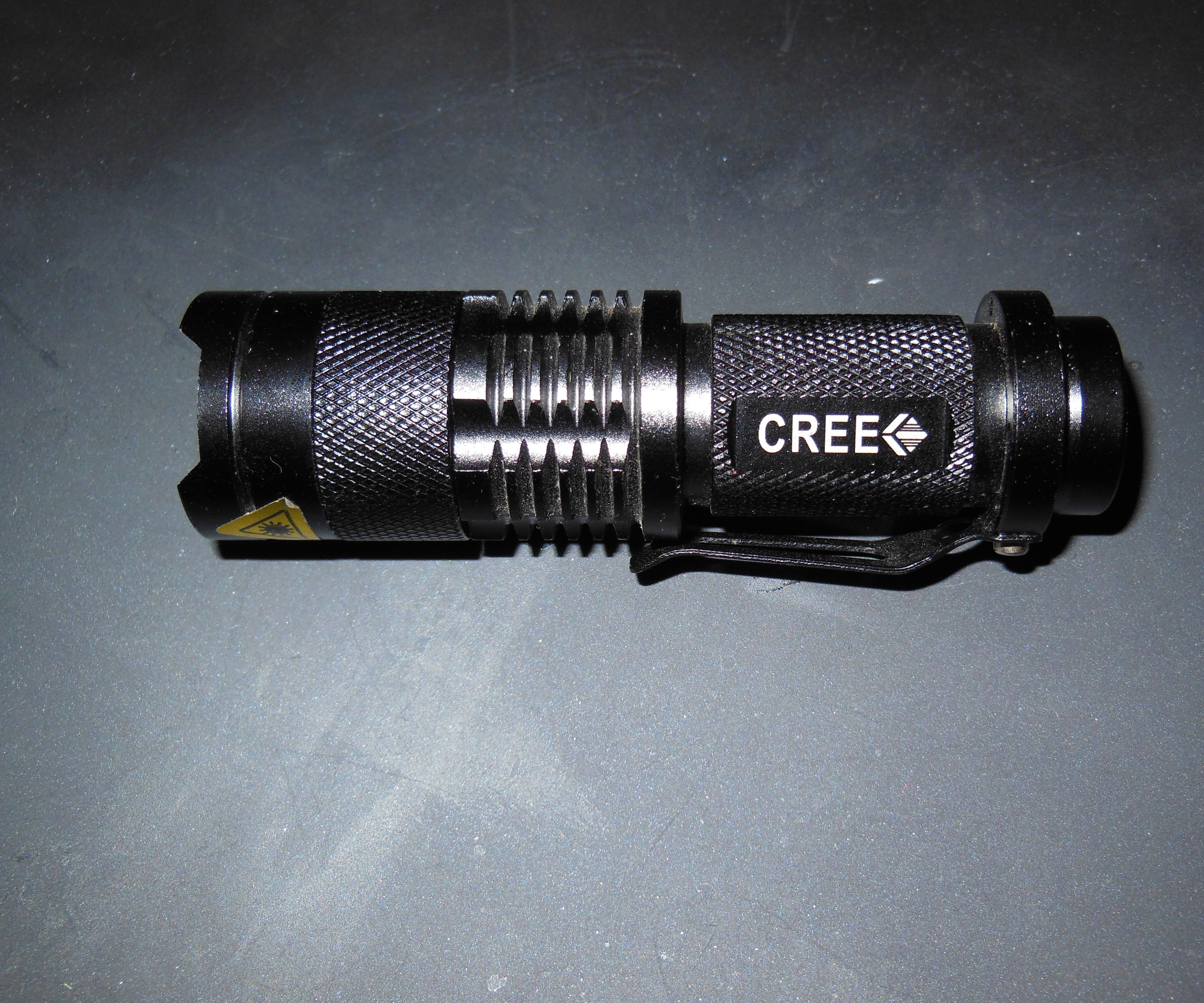 Make a replacement inductor coild Fix a Cree LED UltraOK ZS-2 Flashlight and Mod