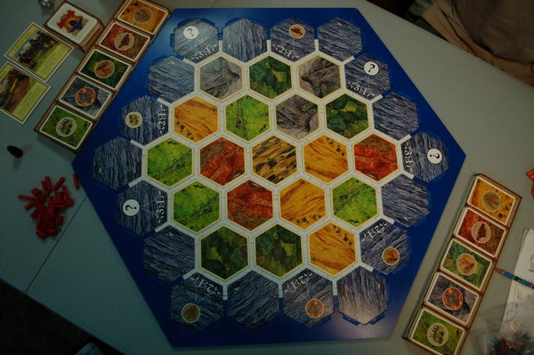 Game Board for Settlers of Catan