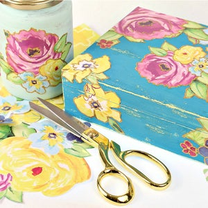 Vintage Gift Box DIY