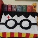 Harry Potter Pencil case fabric hp with gun glue