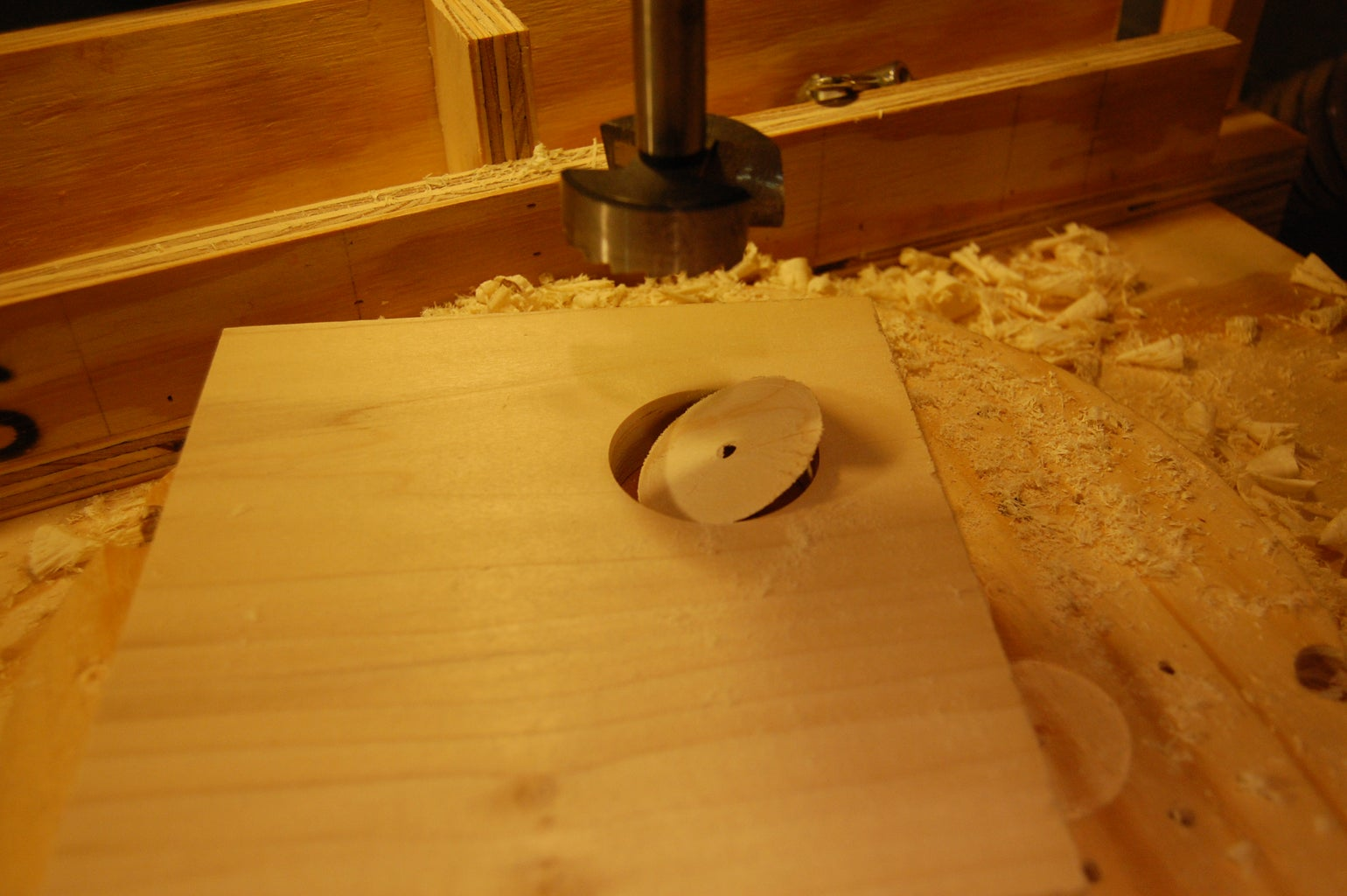 Layout and Drilling
