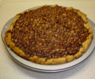 Northern Black Walnut Pie