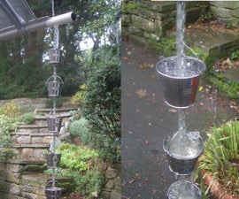 Mini Bucket Rain Chain