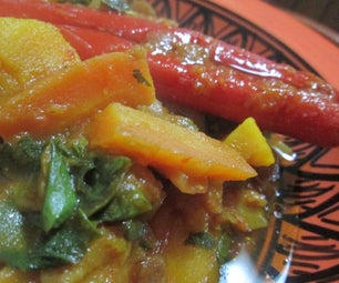 Meatless Flavorful and Spicy Pumpkin Stew
