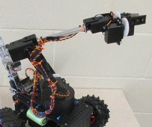 1Sheeld Controlled Robotic Arm