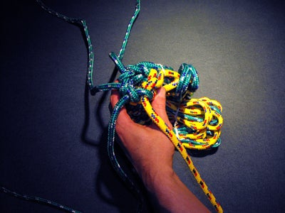Start Knot With 4 Ropes