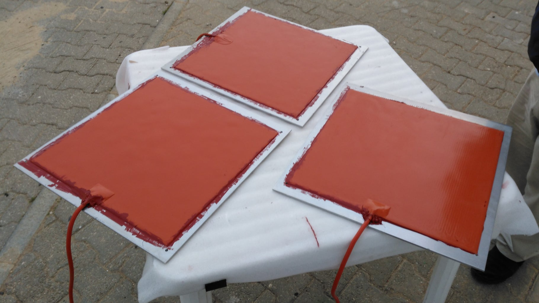 Silicone Heat Bed
