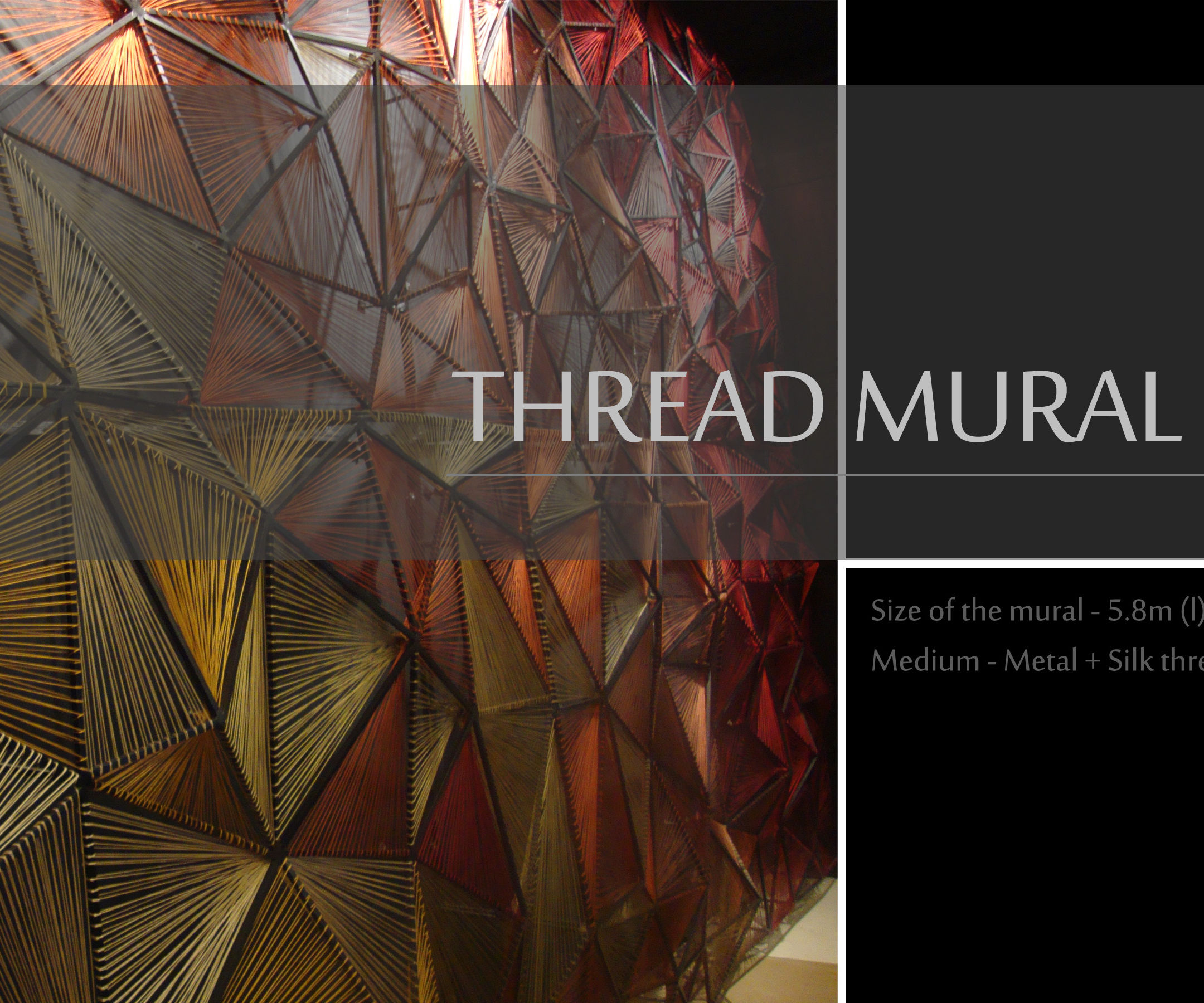 thread mural