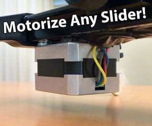 Make an Arduino Controlled Motorized Camera Slider!