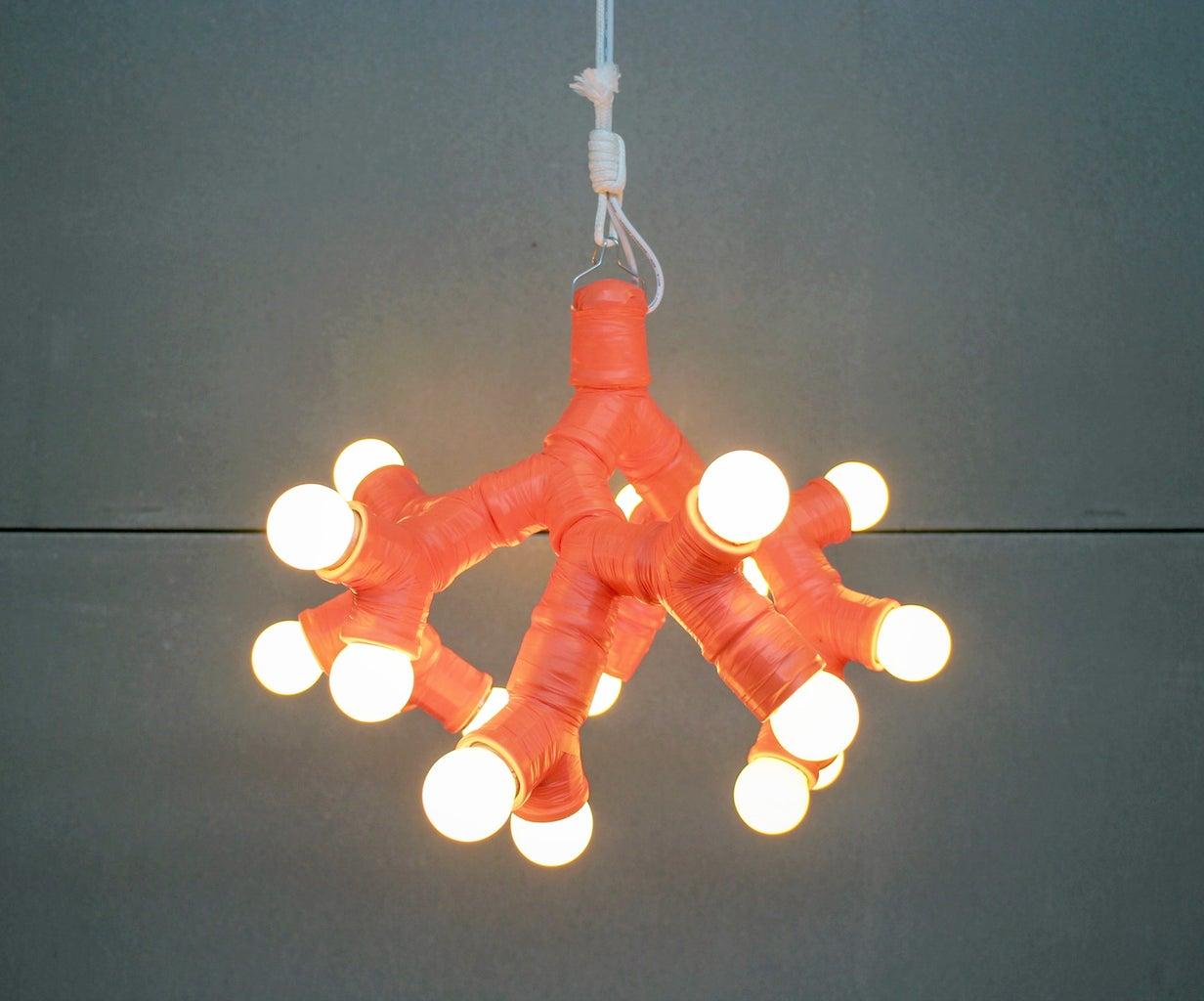 Twin Socket Pendant Light