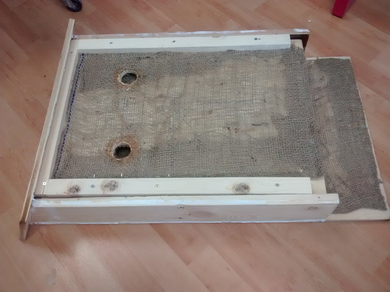 Attach Front Inner Panel