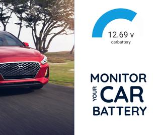 DIY: Monitor Your Car Battery: Code & Setup