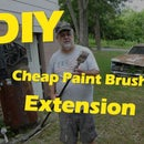 Cheap DIY Paint Brush Extension
