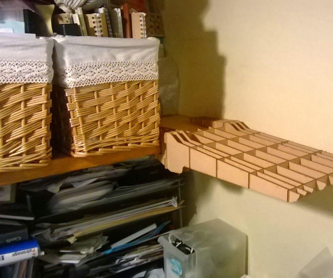 片持ち棚の製作