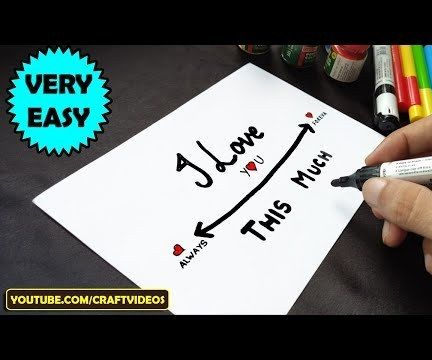 HOW TO DRAW HAPPY ANNIVERSARY CARD