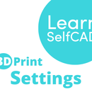 3.2. 3D Printing - Settings | Learn SelfCAD