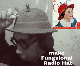 Make Fungsional Radio Hat From 1949