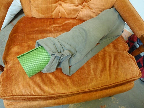 Yoga Mat Bag From Old Pants