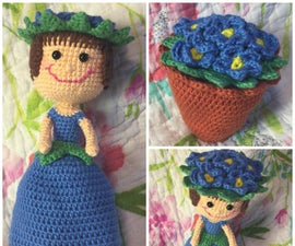 Flower Pot Topsy Turvey Doll