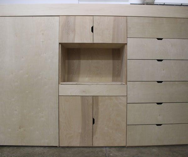 Compact, Modular Living Loft