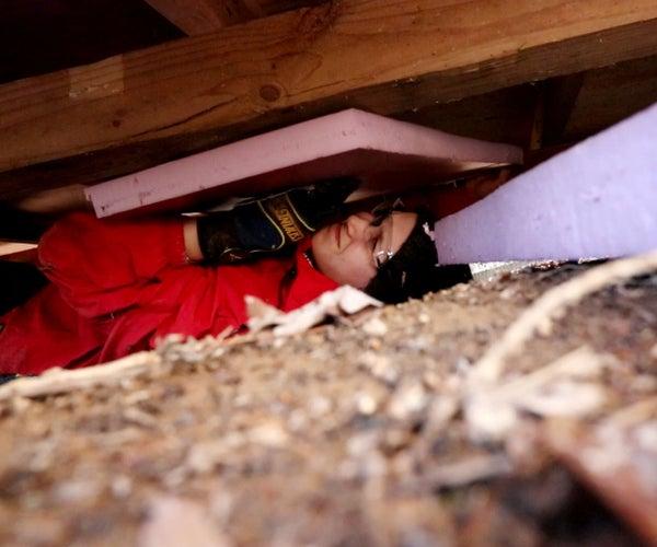 Insulating a Floor Underneath the Crawlspace