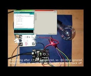 Arduino - SSR-25 DA Solid State Relay and DS3231 RTC Automatic Timer Lamp