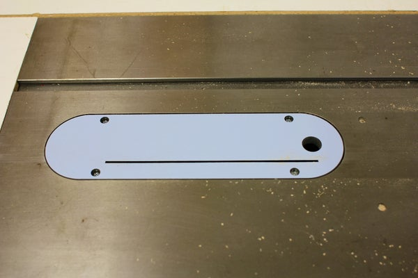 Zero Clearance Table Saw Insert