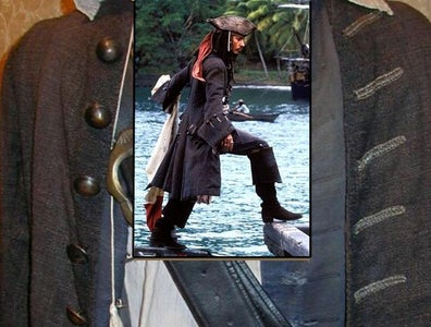 How to Make Jack Sparrow's Coat Buttons With Resin .