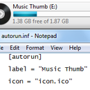 Rename and add an icon to your thumbdrive