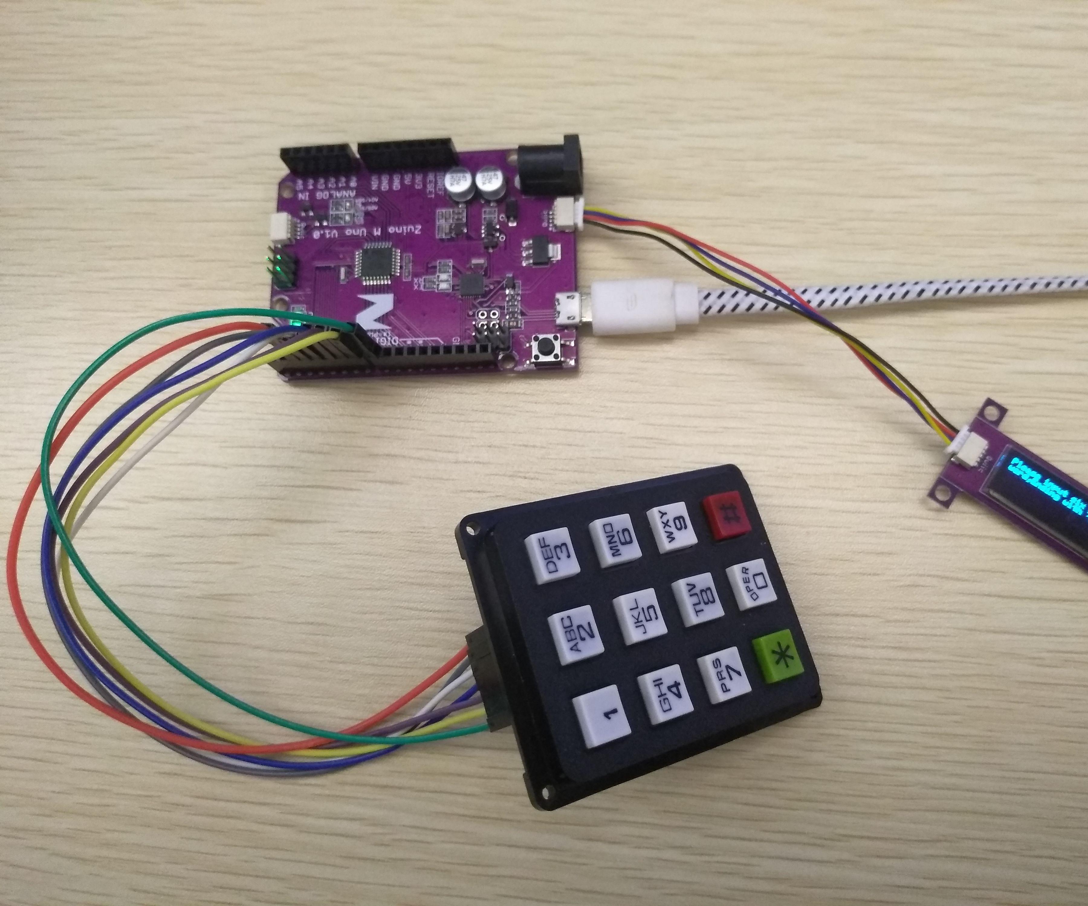 Arduino Digital Code Lock Project Using Matrix Keypad