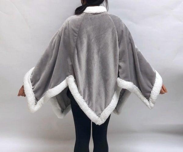 Snowflake Blanket Cape
