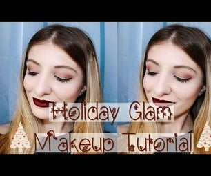Holiday Glam Makeup Tutorial 2016