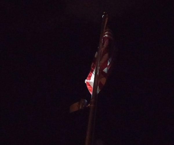 Flag Pole Solar Light