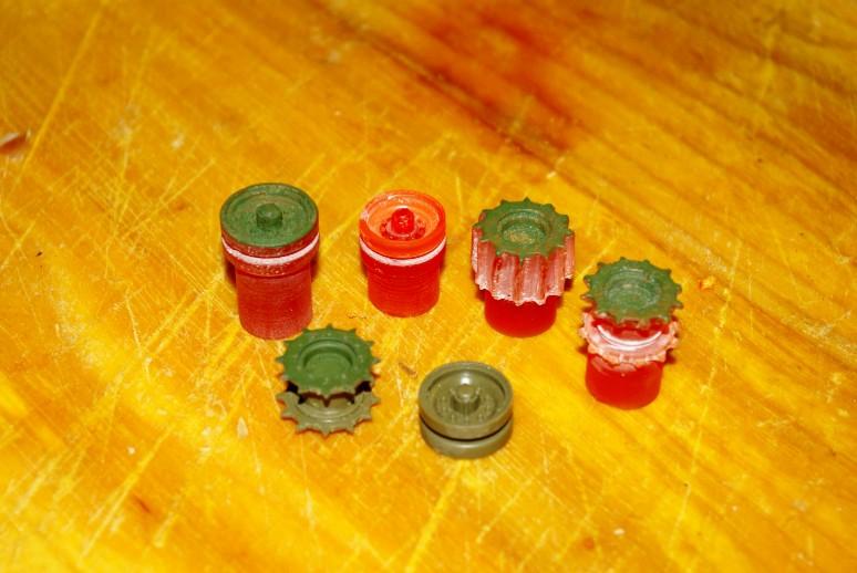 Ultra quick resin cast parts