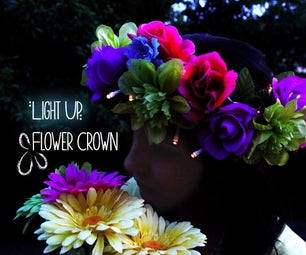 Light Up Flower Crown
