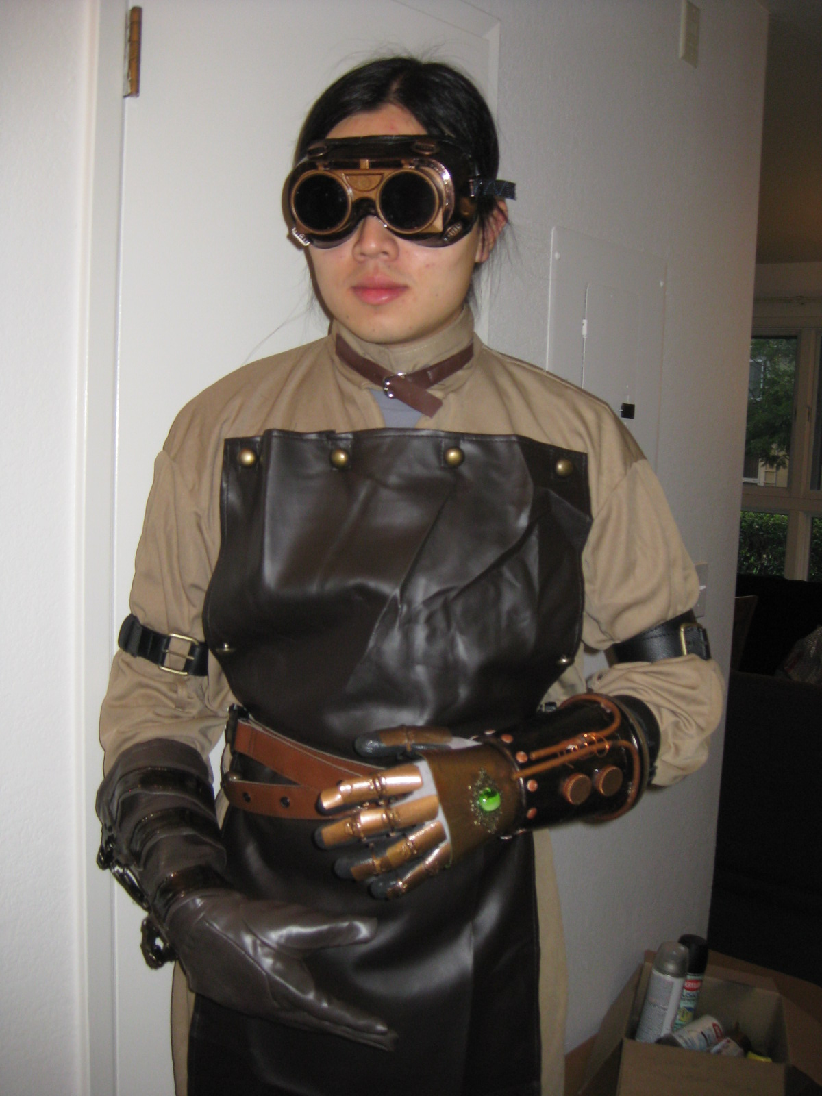 Steampunk Dr. Horrible (Victorian Mad Scientist) Costume
