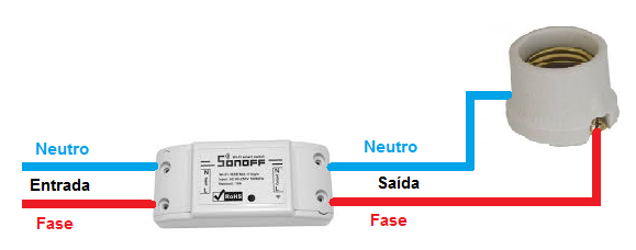 Instalando Sonoff Basic