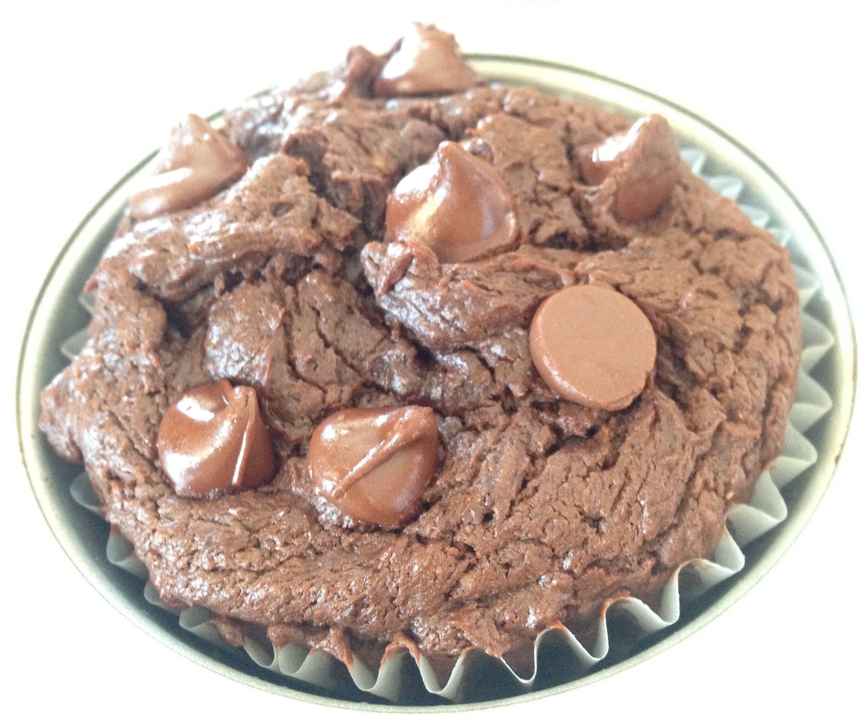Small Batch Double Chocolate Muffins (Gluten-Free/Flourless)