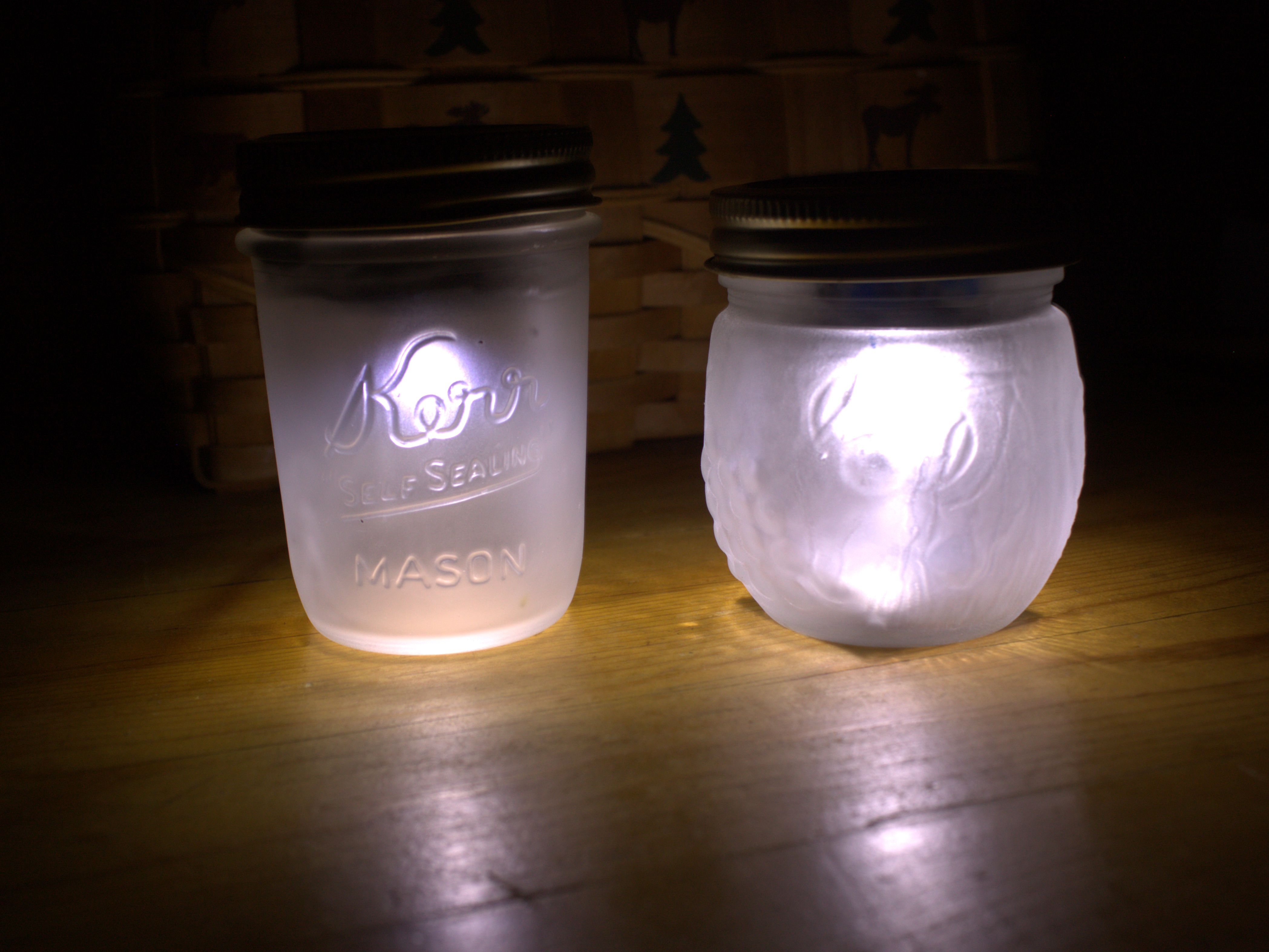 Create Your Own Solar Powered Mason Jar Nightlight From Junk 3 Steps With Pictures Instructables