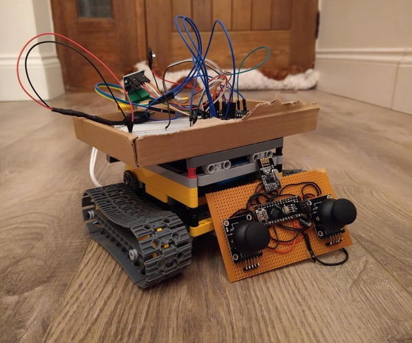 Arduino Controlled LEGO RC Tank and Transmitter