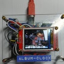 BMP Image File Album and Digital Clock With Arduino