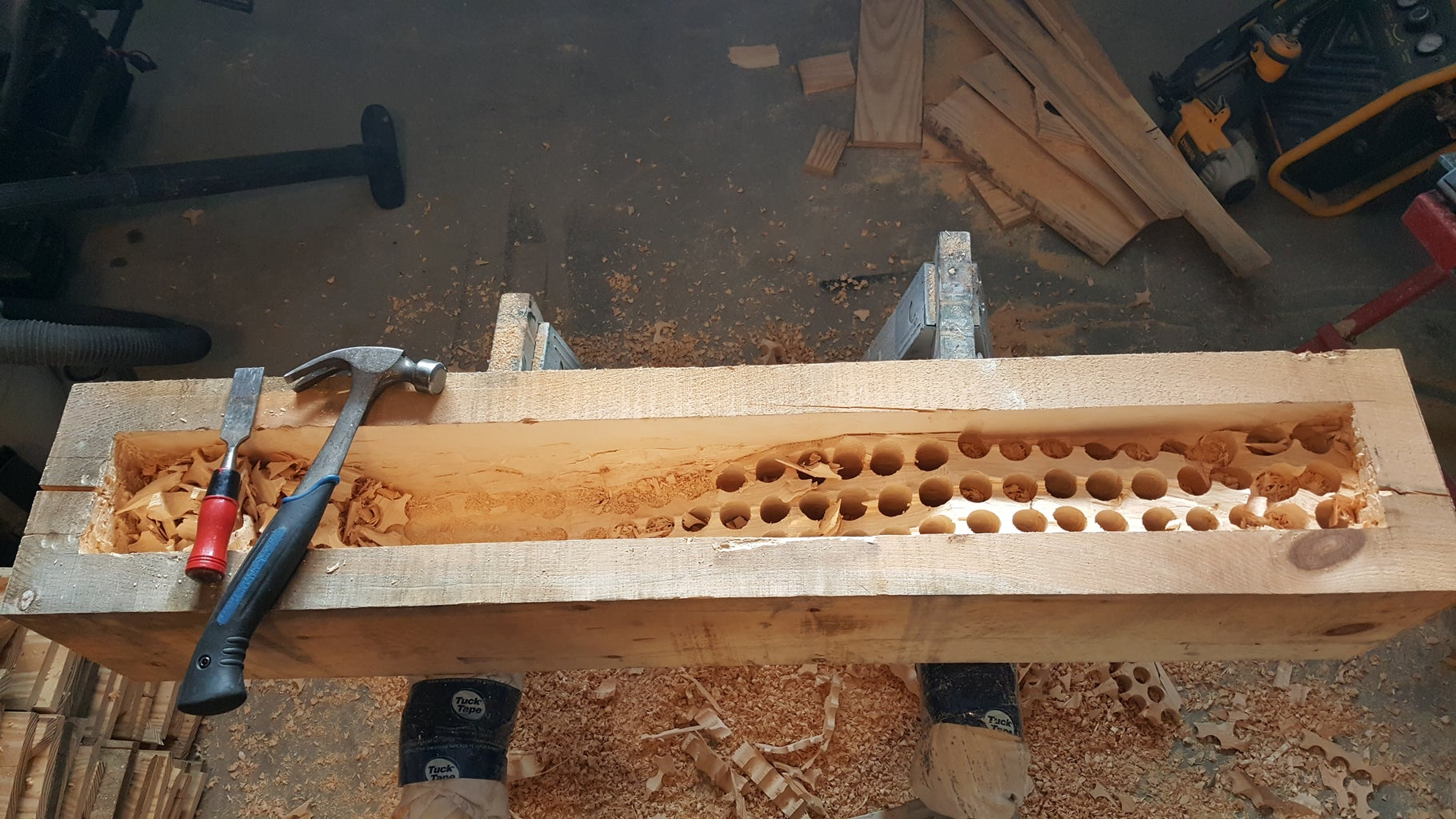 Carving the Beam