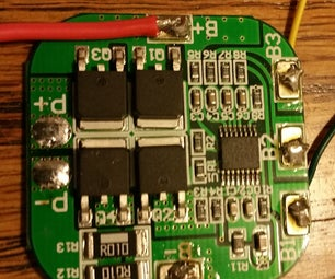 DIY 4S Lithium Battery Pack With BMS