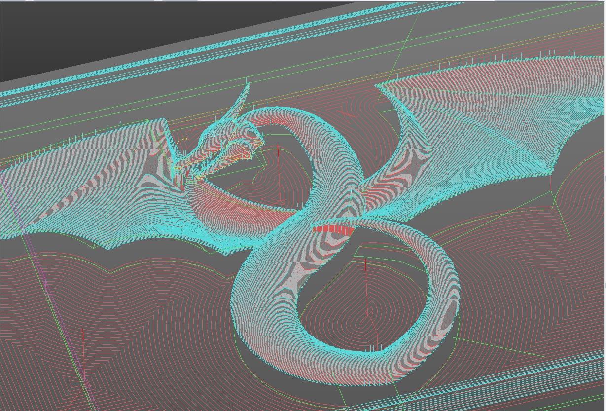 CNC Dragon