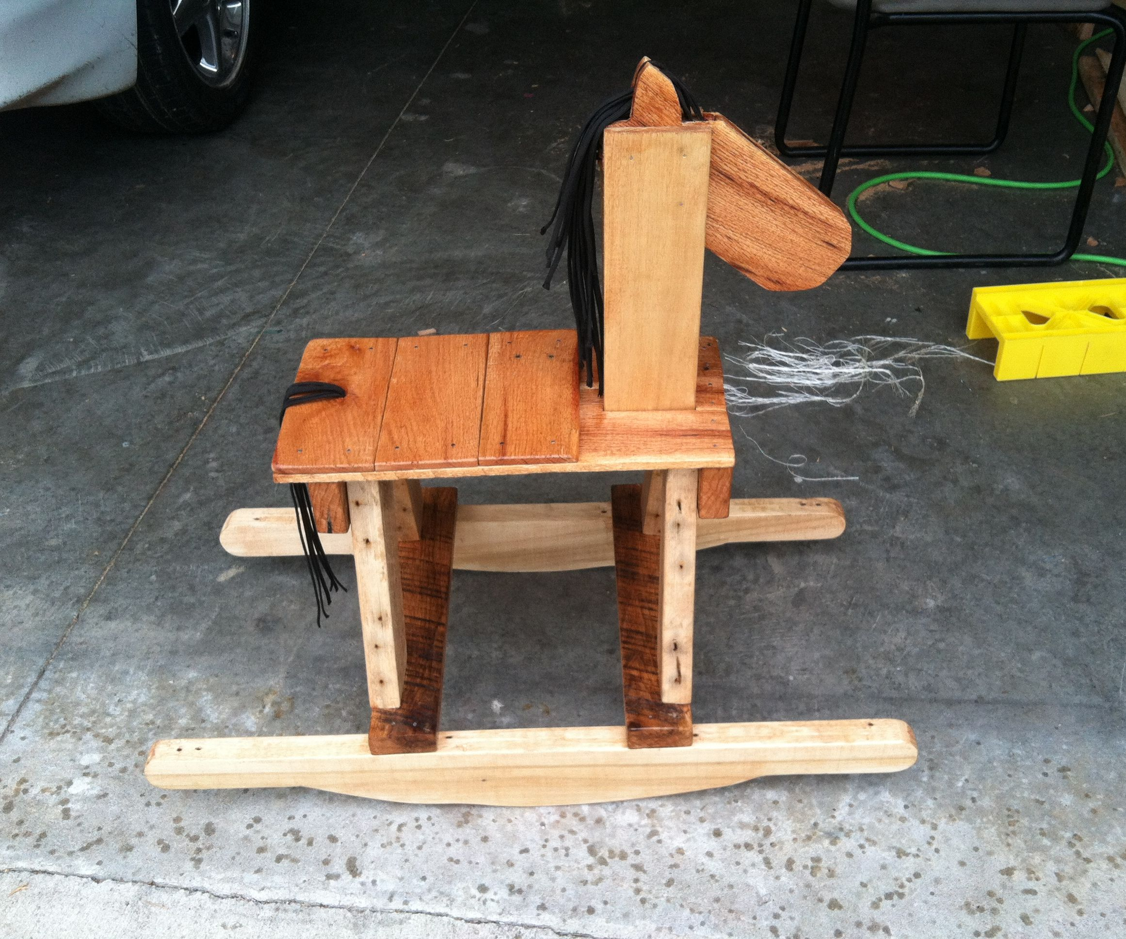 Rocking Horse Pallet Art:  How to Make Your Own Rustic Rocking Horse