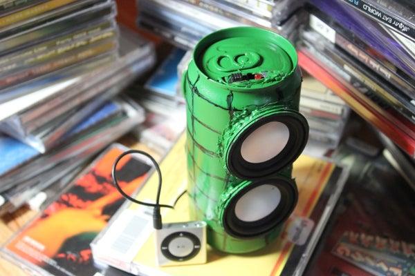 Musical Soda Can