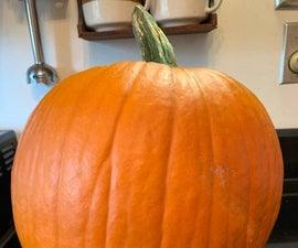 Let's Cook a Big Fresh Pumpkin!