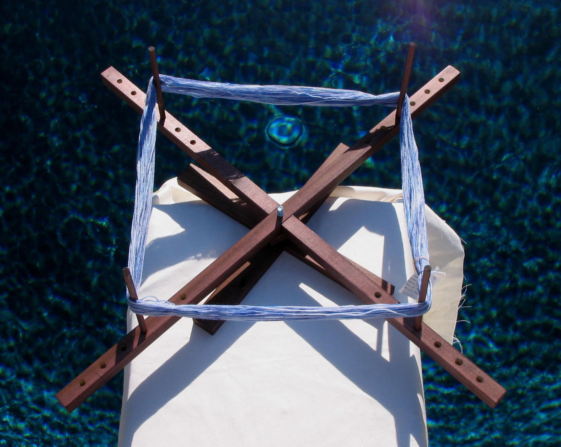 SewUseful: Portable Tabletop Yarn Swift (for winding yarn)